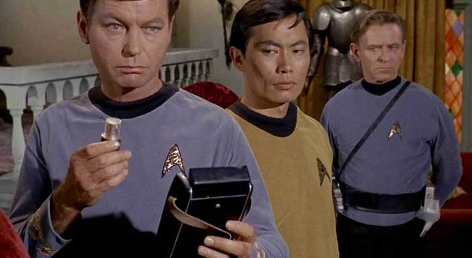 Star Trek medical tricorder