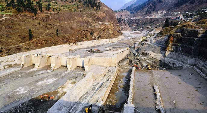 Tapovan Vishnugad hydroelectric plant