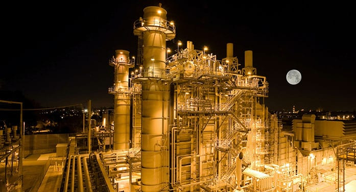 oil refinery rig natural gas energy