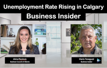 VIDEO: Unemployment rate rising in Calgary
