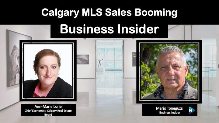 VIDEO: Calgary MLS Sales Booming