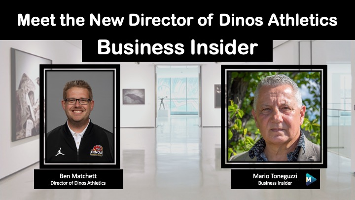 VIDEO: Meet the New Director of Dinos Athletics