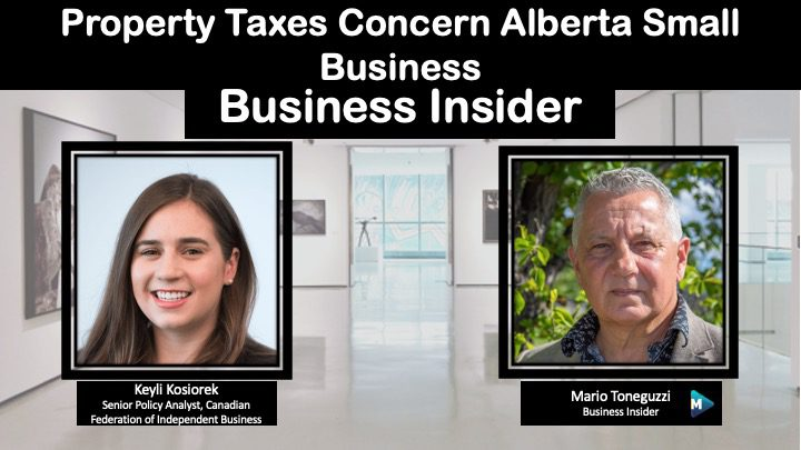 VIDEO: Property Taxes Concern Alberta Small Business