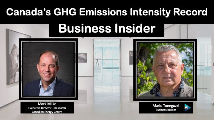 VIDEO: Canada's GHG Emissions Intensity Record