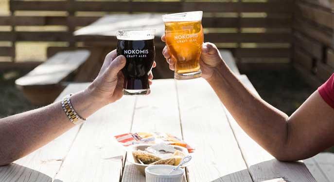 Nokomis Craft Ales beer golden ale