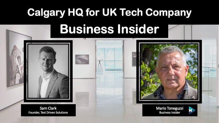 VIDEO: Calgary HQ for UK Tech Company