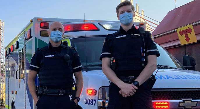 alberta ems paramedic ambulance first responder medical trauma