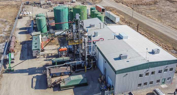 Cielo Waste Solutions conversion plant aldersyde