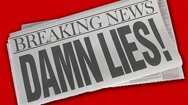 fake news and lies