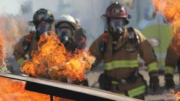 firefighters emergency workers
