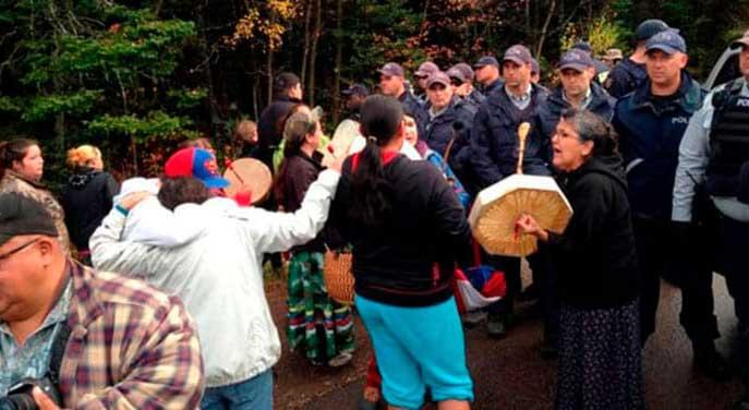 Aboriginal land claims