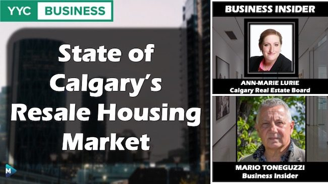 VIDEO: State of Calgary's Resale Housing Market