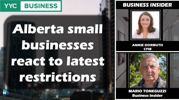VIDEO: Alberta Small Businesses React to Latest Restrictions