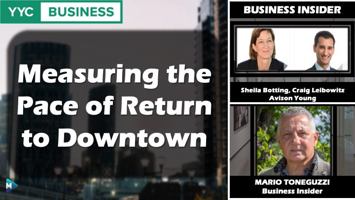 VIDEO: Measuring the Pace of Return to Downtown