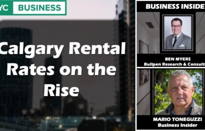 VIDEO: Calgary Rental Rates on the Rise