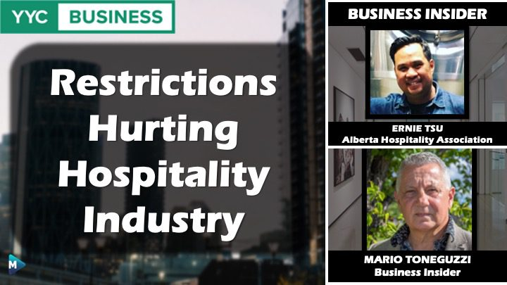 VIDEO: Restrictions Hurting Hospitality Industry