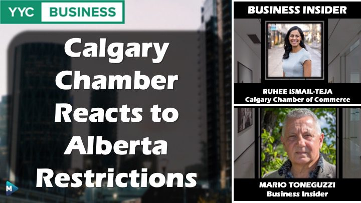 VIDEO: Calgary Chamber Reacts to Alberta Restrictions