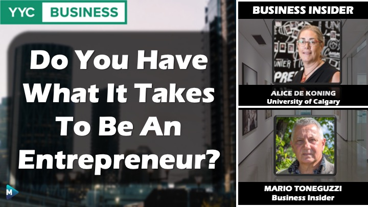 VIDEO: Do You Have What It Takes To Be An Entrepreneur?