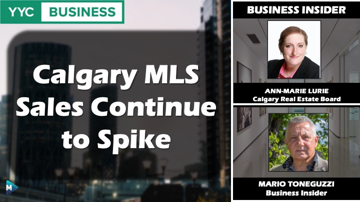 VIDEO: Calgary MLS sales continue to spike