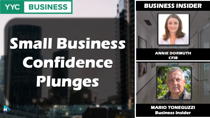 VIDEO: Small Business Confidence Plunges