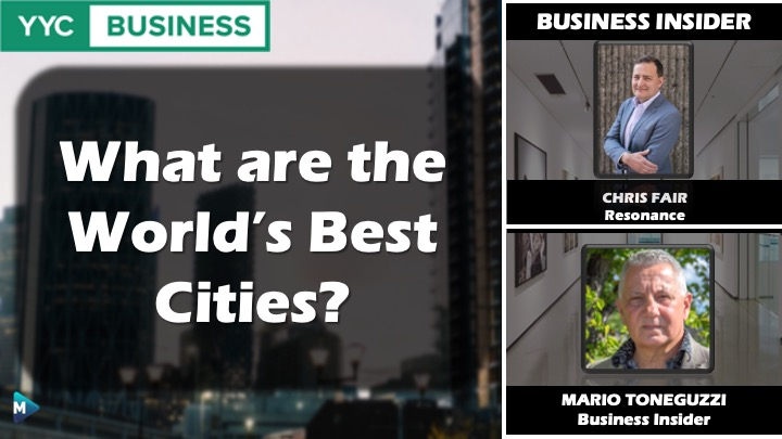 VIDEO: What are the World's Best Cities?