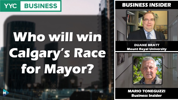 VIDEO: Who will win Calgary's Race for Mayor?