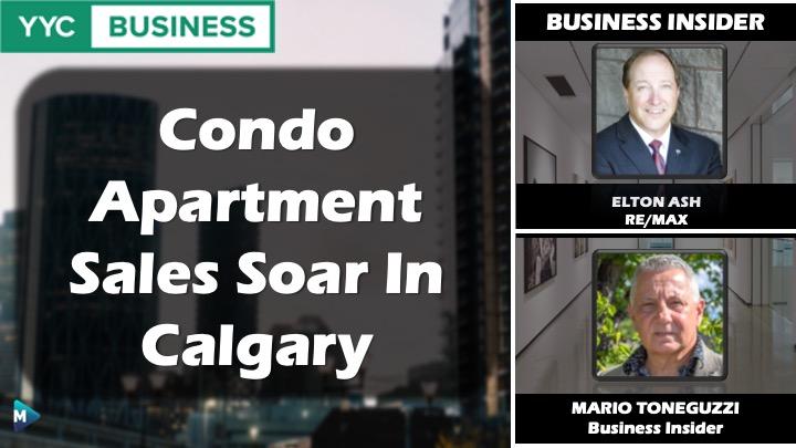 VIDEO: Condo Apartment Sales Soar In Calgary