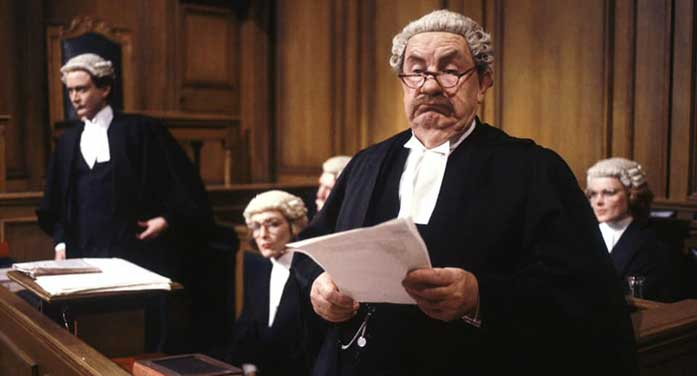Rumpole-of-the-Bailey tv television court drama