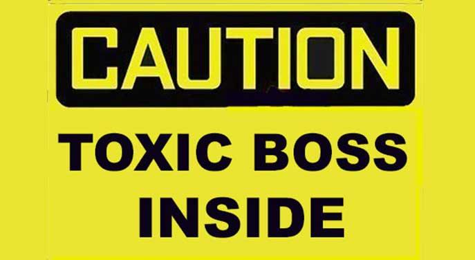 toxic boss
