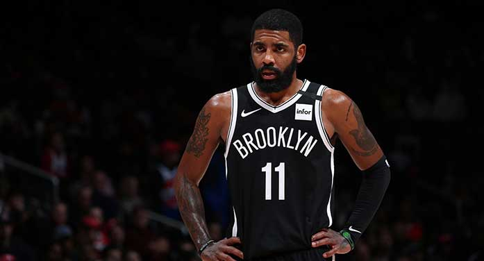 kyrie irving nba brooklyn nets basketball