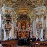 The amazing Rococo altar at UNESCO World Heritage Site, the Wieskirche in the Pfaffenwinkel area of the Romantic Road - Photo courtesy of Romantic Road Tourist Association