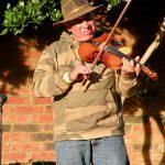 Cajun fiddler in Natchitoches